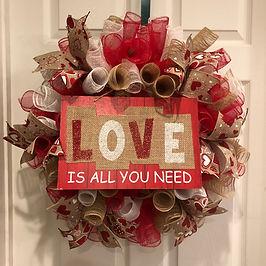 Love is all you need wreath.JPG