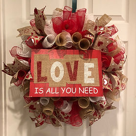 Love is all you need wreath.JPG