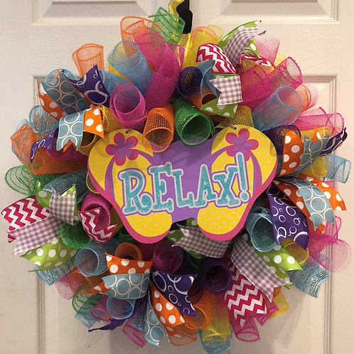 Spring/Summer Wreath (colorful)