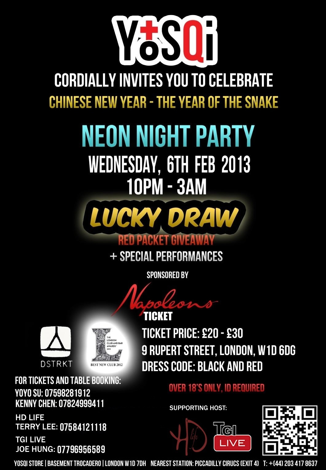 Chinese New Year Neon Night