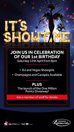 London Genting Casino Anniversary