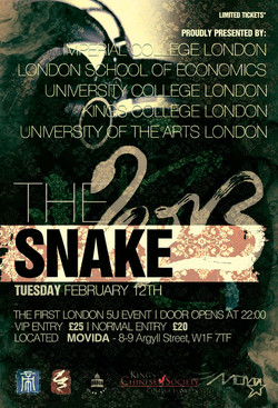 Jellybird Promotion @ The Snake