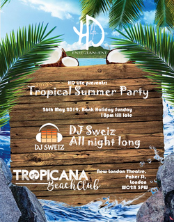 HD Life Summer Party Poster