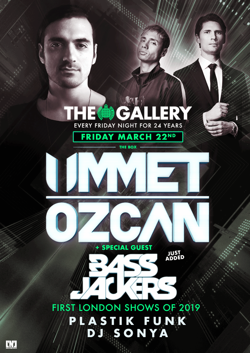Ummet Ozcan and Bass Jackers