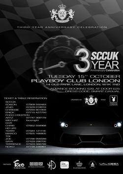 SCCUK 3rd Anniversary @ Playboy