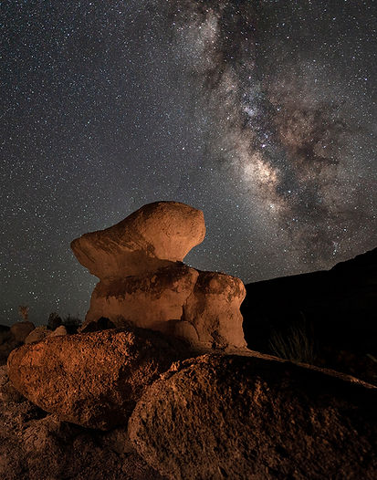 Big Bend Hoodoo Milky Way
