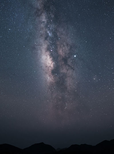 Milky Way Over Chisos Mountains