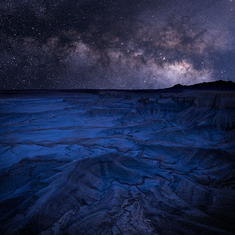Utah Badlands Milky Way