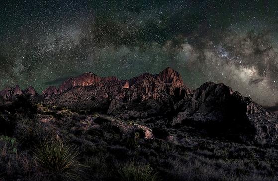 Milky Way over Big Bend National Park