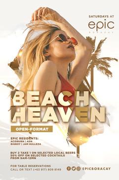 Beach Heaven Saturday