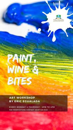 Paint Wine and Bites