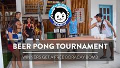 Boracay Mad Monkey Beer Pong Tournament.