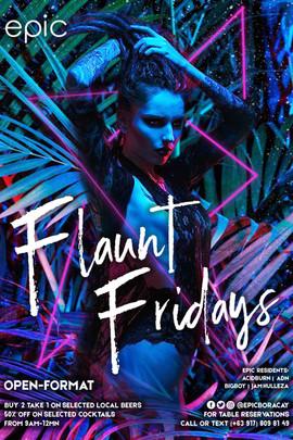 Flaunt Fridays