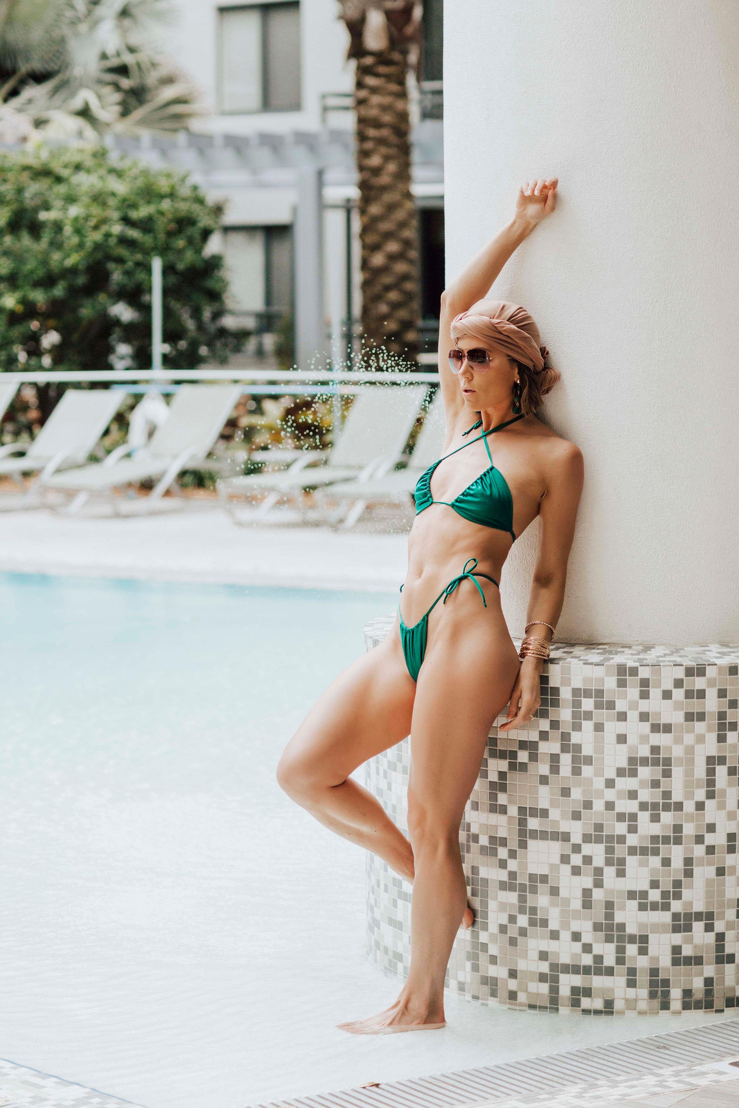 brand bikini photoshoot