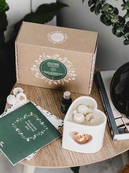 Home & Hygge Soy Wax Melt Making Kit