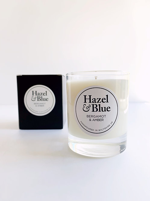 Bergamot & Amber - Soy Scented Candle