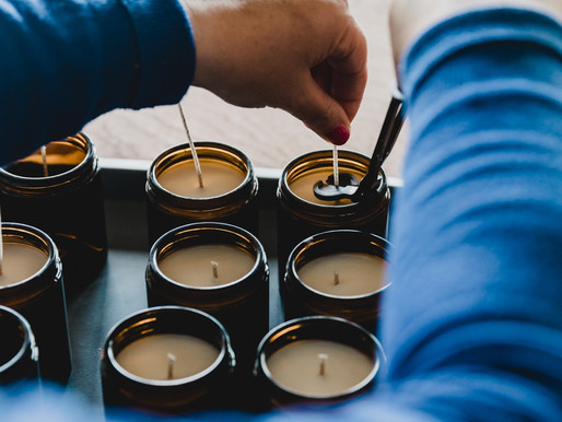 The Link between Self-care and Making Candles