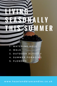 Hazel and Blue Candles Blog post, summer outdoor activities, summer things to do, summer fun activities