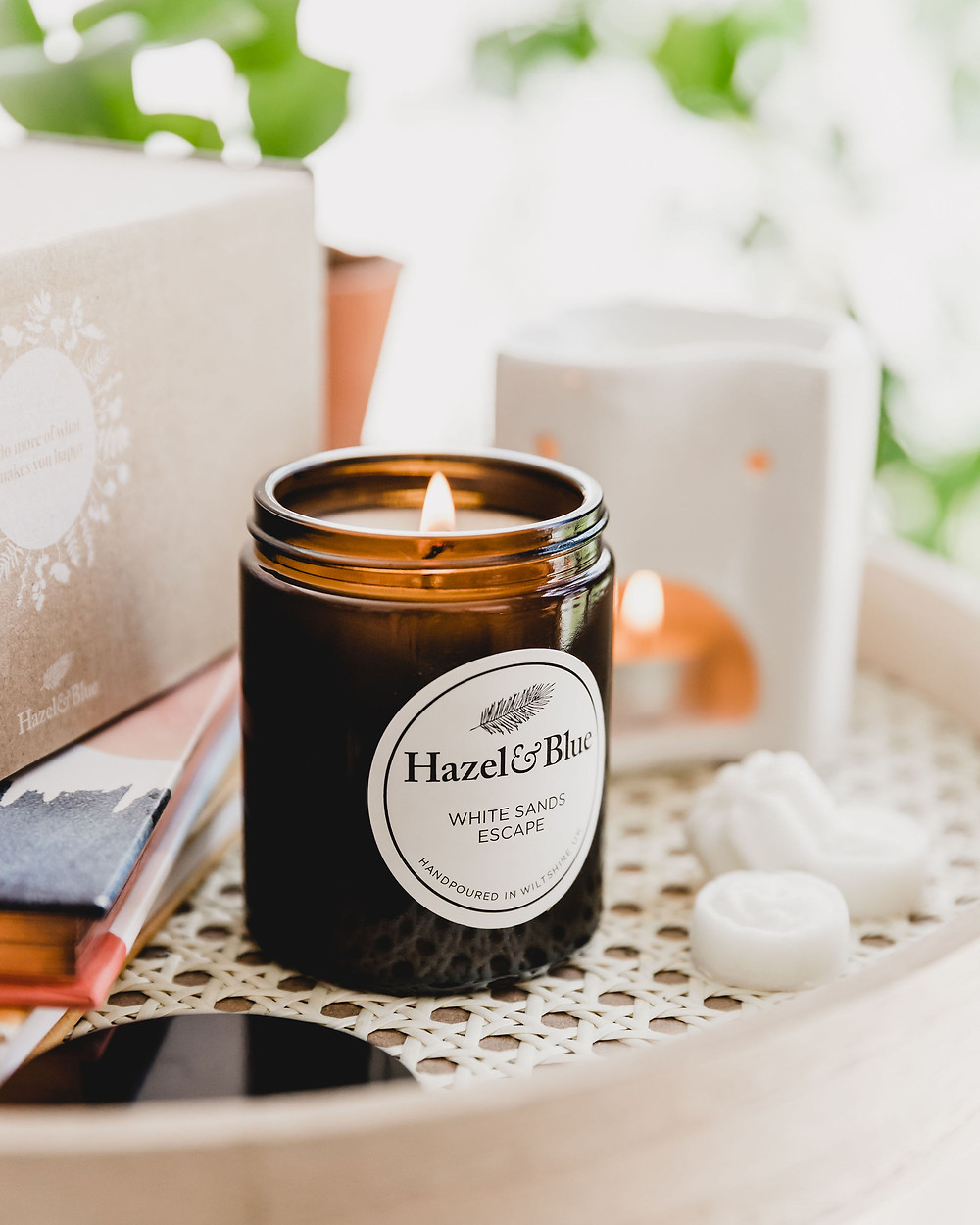 Summer beach soy candle