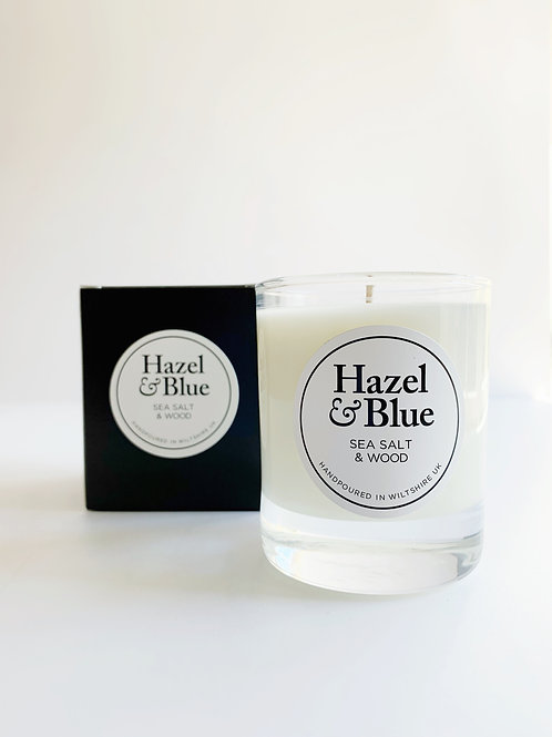 Sea Salt and Wood Soy Candle