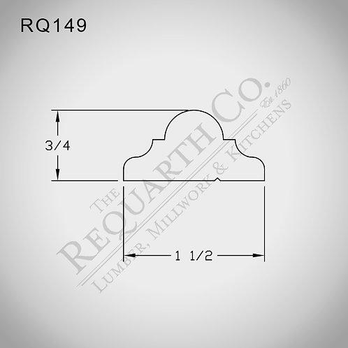 RQ149 Panel Mould 11/16 x 1-1/2