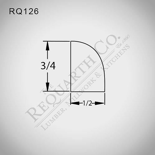 RQ126 Shoe Mould 1/2 x 3/4