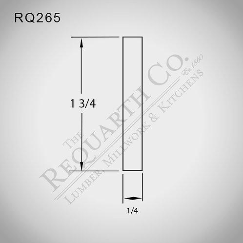 RQ265 Lattice 1/4 x 1-11/16