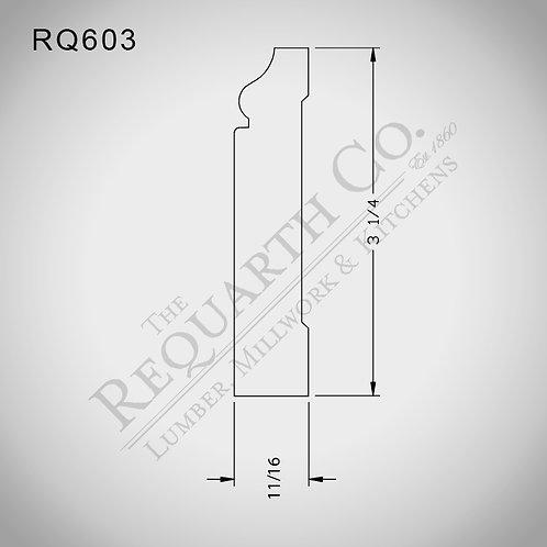 RQ603 Base 11/16 x 3-1/4
