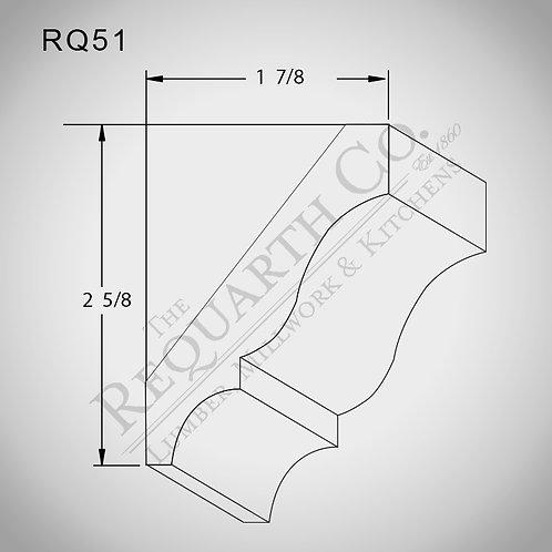 RQ51 Crown Mould 9/16 x 3-1/4