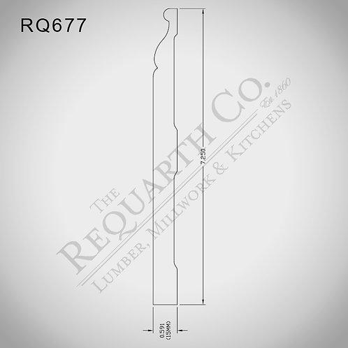RQ677 Base 5/8 x 7-1/4