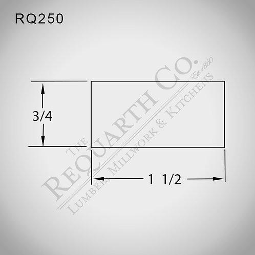 RQ250 Screen Stock 3/4 x 1-1/2
