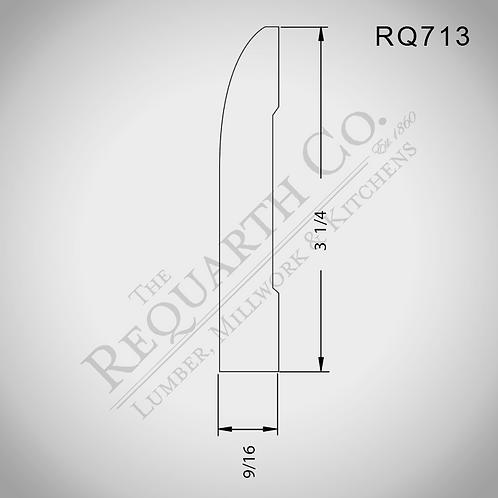 RQ713 Base 9/16 x 3-1/4