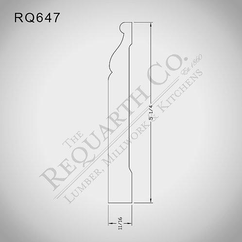 RQ647 Base 5/8 x 5-1/4