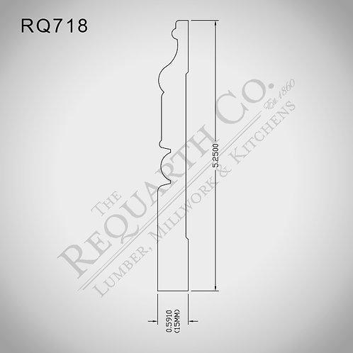 RQ718 Base 5/8 x 5-1/4