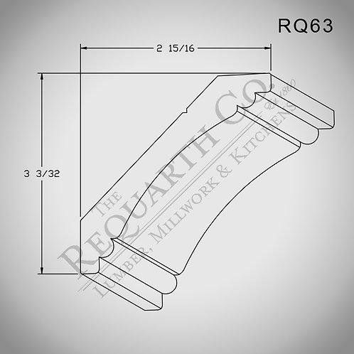 RQ63 Crown Mould 3/4 x 4-1/4