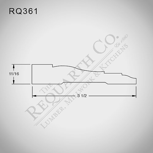 RQ361 Casing 3/4 x 3-1/2