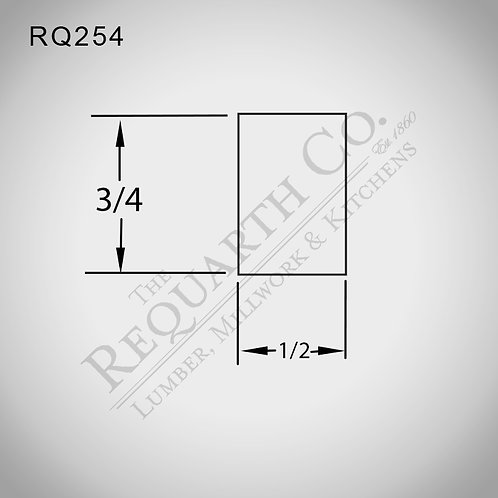 RQ254 Parting Stop 1/2 x 3/4