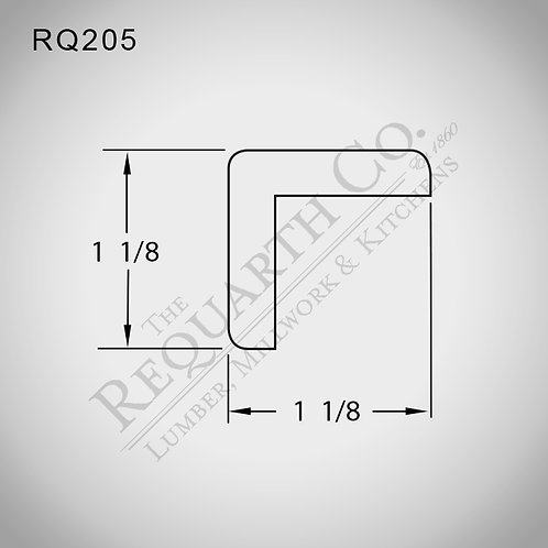 RQ205 Outside Corner 1-1/8 x 1-1/8