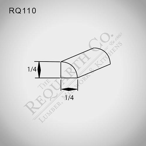 RQ110 Quarter Round 1/4 x 1/4