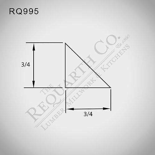 RQ995 Cant (Chamfer) 3/4 x 3/4