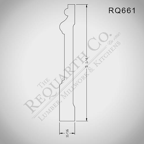 RQ661 Base 11/16 x 5-1/4