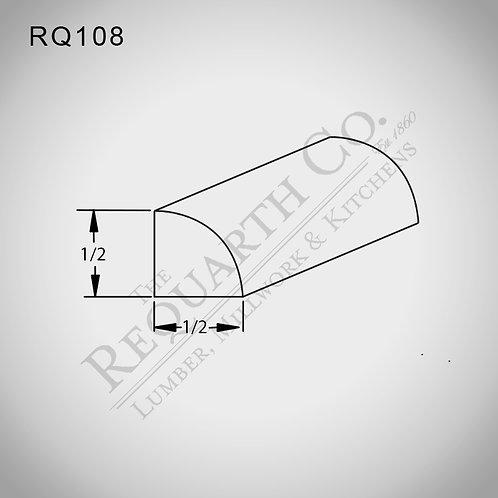 RQ108 Quarter Round 1/2 x 1/2