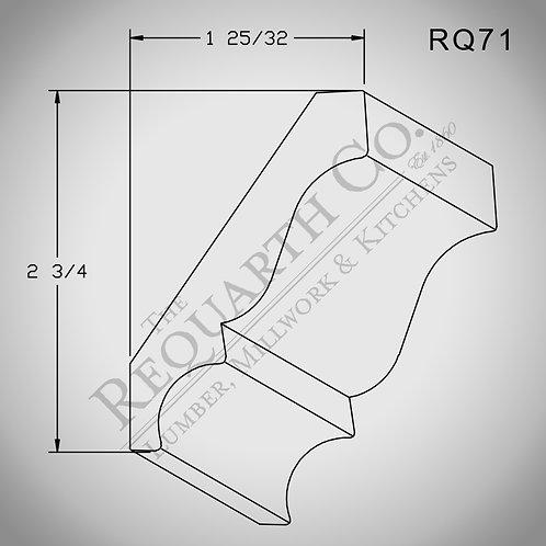 RQ71 Crown Mould 5/8 x 3-1/4