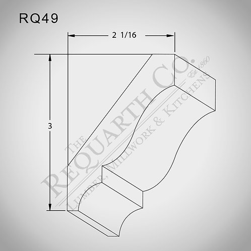 RQ49 Crown Mould 9/16 x 3-5/8