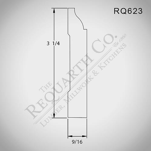 RQ623 Base 9/16 x 3-1/4