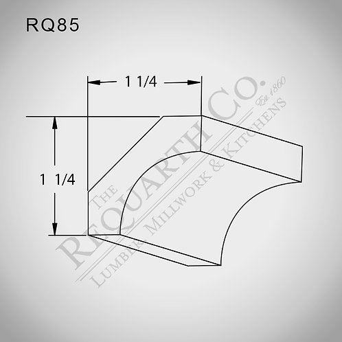 RQ85 Cove 9/16 x 1-3/4