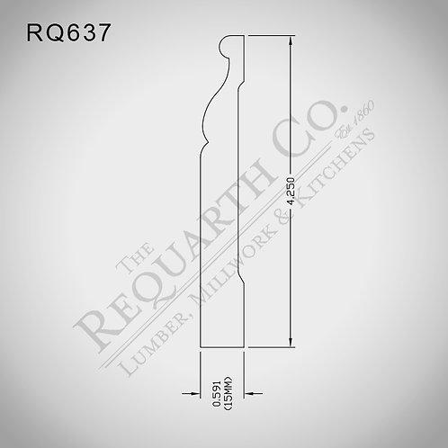 RQ637 Base 9/16 x 4-1/4