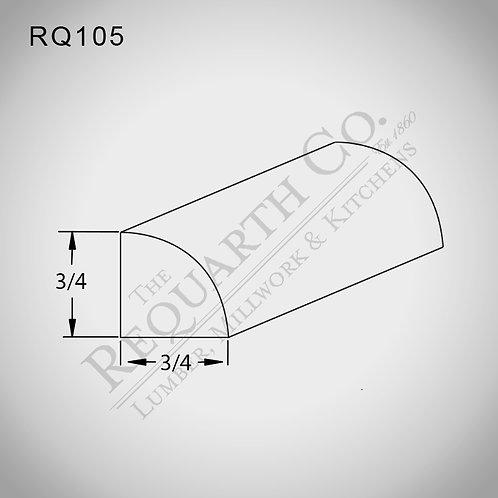 RQ105 Quarter Round 3/4 x 3/4
