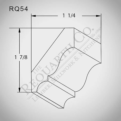 RQ54 Crown Mould 9/16 x 2-1/4