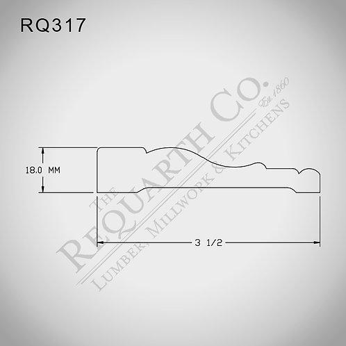 RQ317 Casing 18mm x 3-1/2